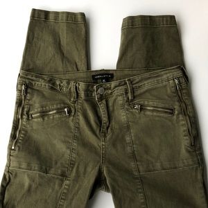 Kendall & Kylie Army Green Jeans Size 30